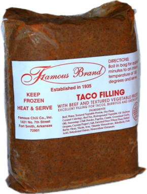 Famous Brand Taco Filling